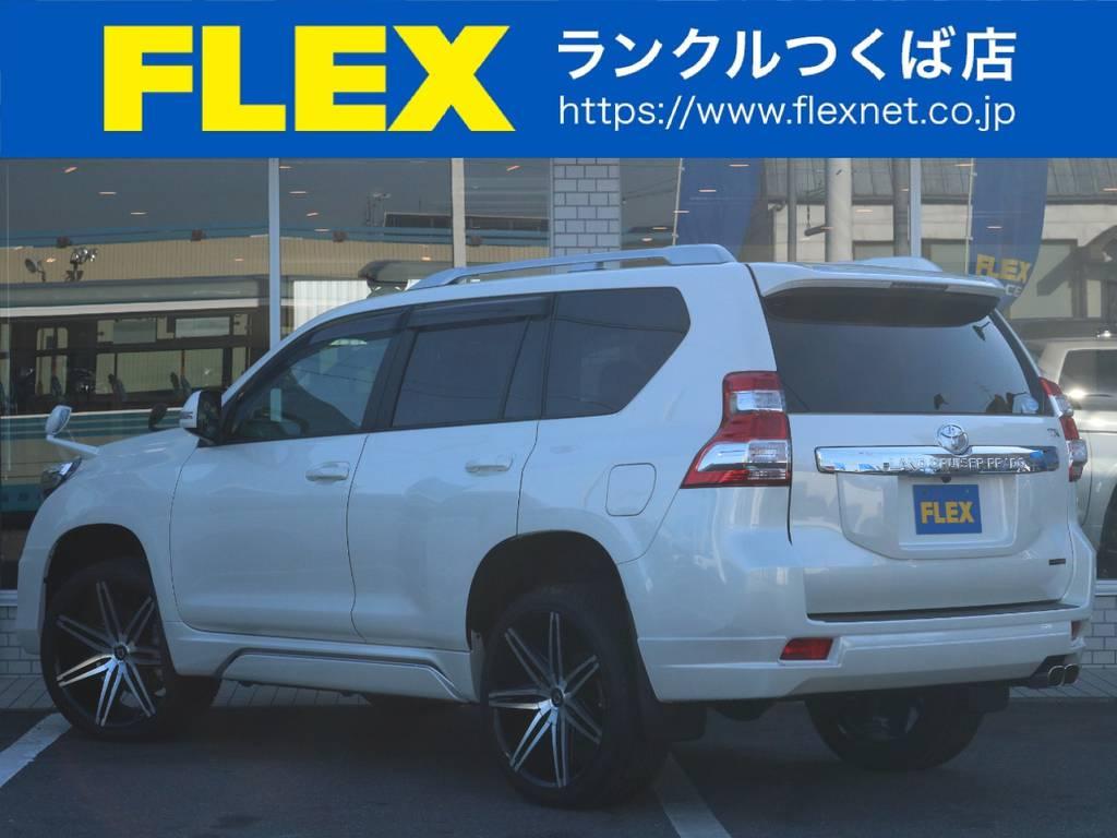 中期型TX-Lフルオプション!贅沢な1台です!   トヨタ ランドクルーザープラド 2.7 TX Lパッケージ 4WD 新車未登録 モデリスタエアロ