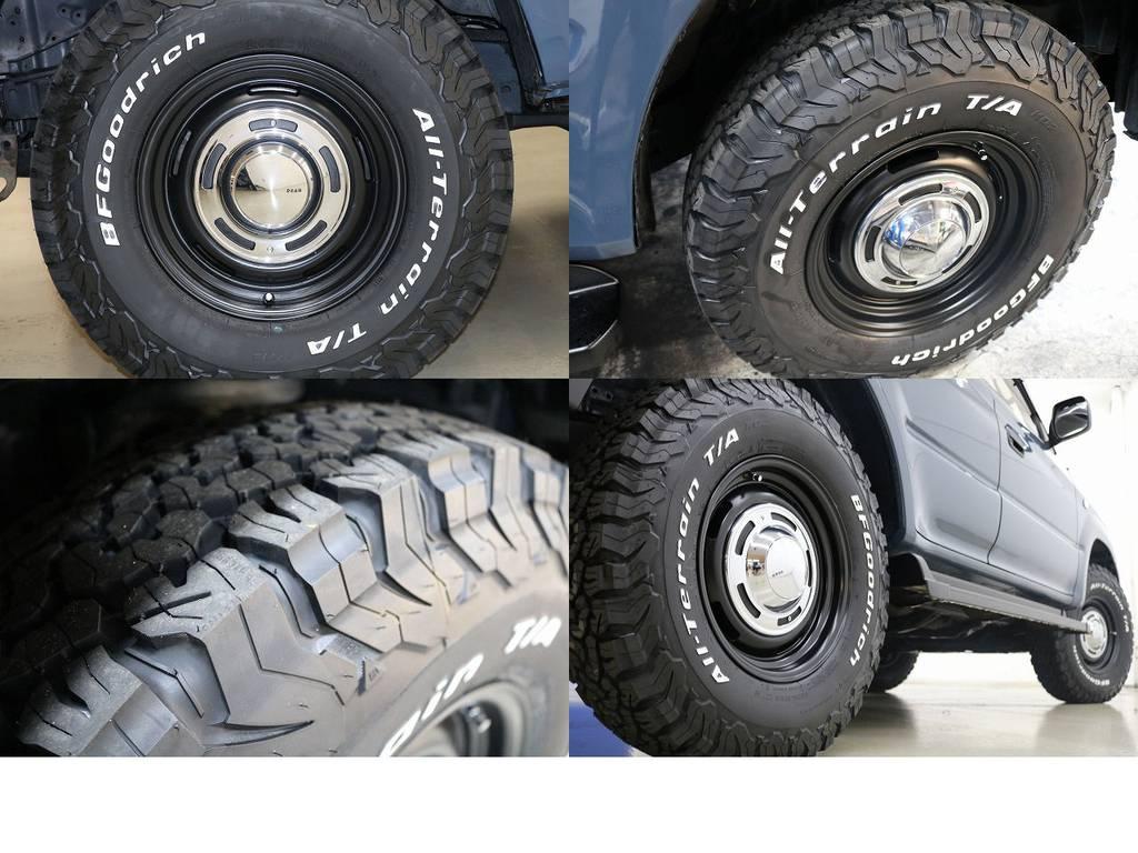 新品BFグットリッチATタイヤ×DEENクロスカントリーAW☆ | トヨタ ランドクルーザープラド 3.0 TX ディーゼルターボ 4WD