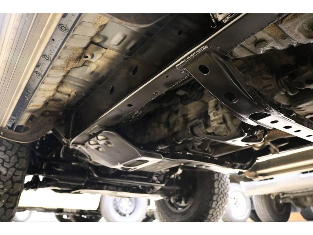下廻りの状態も良好です♪ | トヨタ ランドクルーザープラド 3.0 TX ディーゼルターボ 4WD