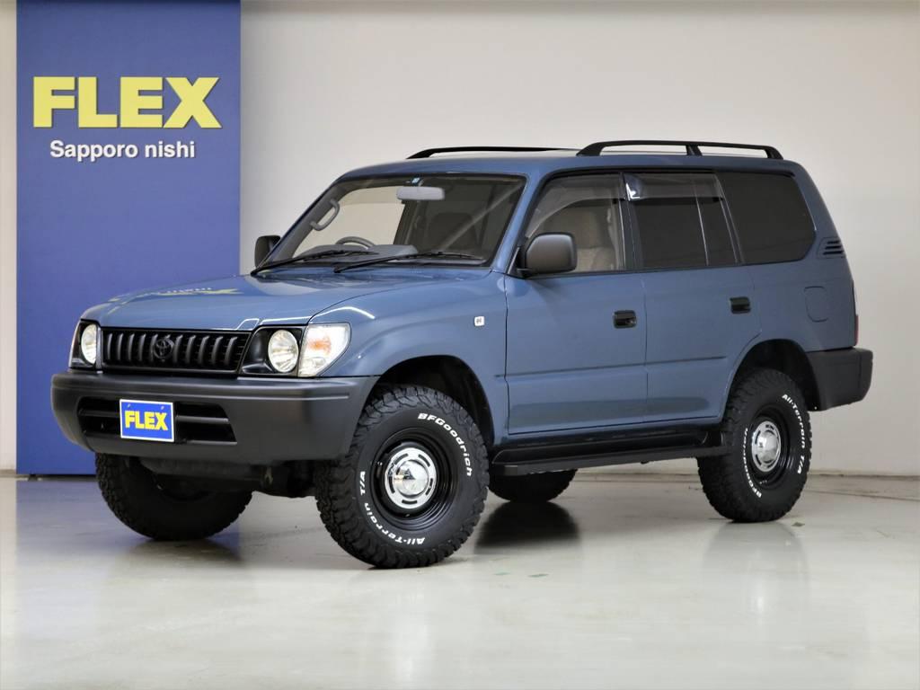 平成11年式ランドクルーザー95プラド3000ディーゼルターボ☆ | トヨタ ランドクルーザープラド 3.0 TX ディーゼルターボ 4WD