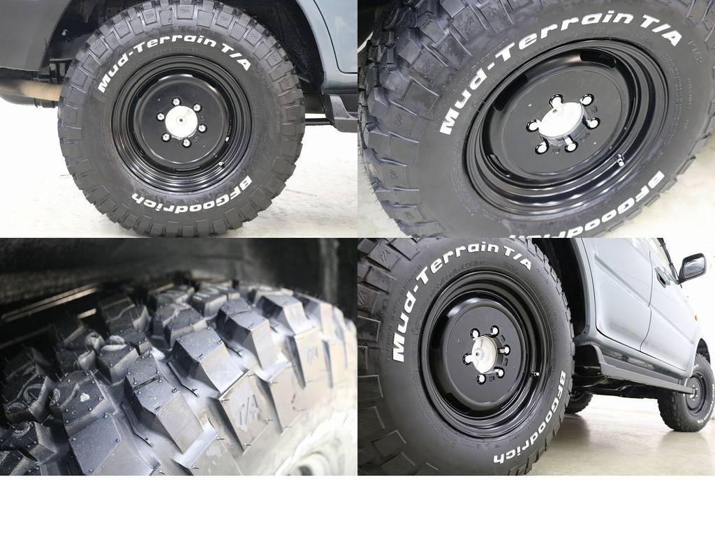 BFグットリッチMTタイヤ×DEENクロスカントリー16インチAW☆ | トヨタ ランドクルーザープラド 3.0 TX ディーゼルターボ 4WD