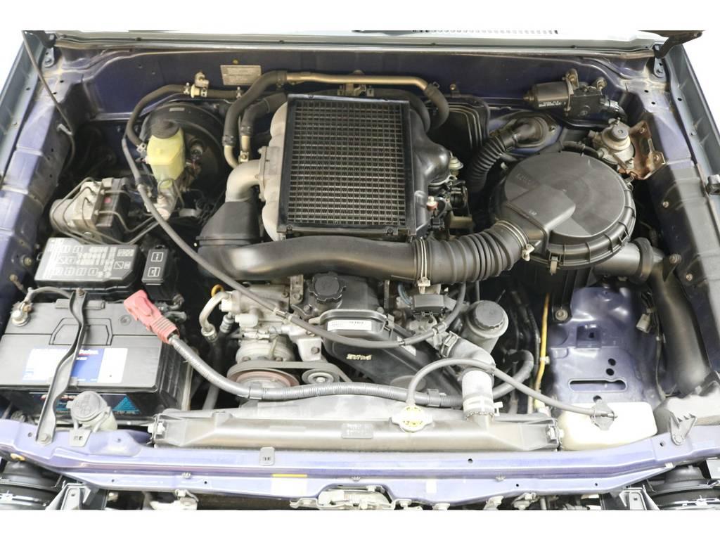 耐久性に優れたディーゼルエンジン搭載☆ | トヨタ ランドクルーザープラド 3.0 TX ディーゼルターボ 4WD
