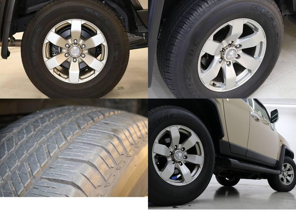 社外17インチホイール☆ | トヨタ FJクルーザー 4.0 カラーパッケージ 4WD