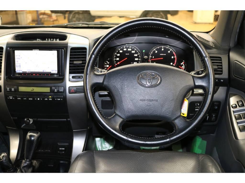純正ハンドル☆ | トヨタ ランドクルーザープラド 3.0 TX リミテッド 60thスペシャルエディション ディーゼルターボ 4WD