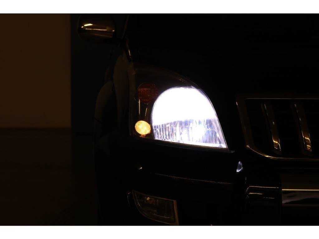 HIDヘッドライト☆ | トヨタ ランドクルーザープラド 3.0 TX リミテッド 60thスペシャルエディション ディーゼルターボ 4WD