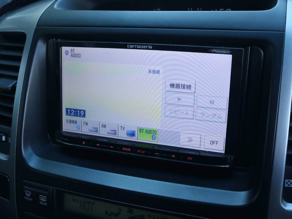 カロッツェリア楽ナビフルセグ対応SDナビも装着済み!   トヨタ ランドクルーザープラド 3.0 TX リミテッド 60thスペシャルエディション ディーゼルターボ 4WD