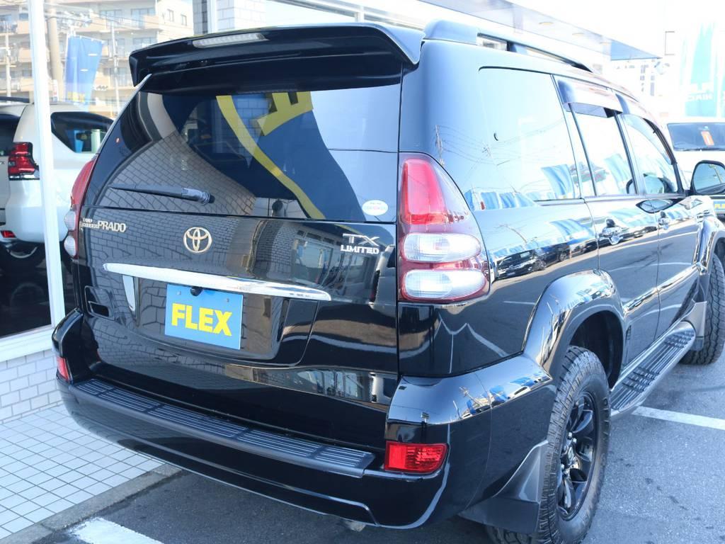テールレンズ類もグッドコンディション!   トヨタ ランドクルーザープラド 3.0 TX リミテッド 60thスペシャルエディション ディーゼルターボ 4WD