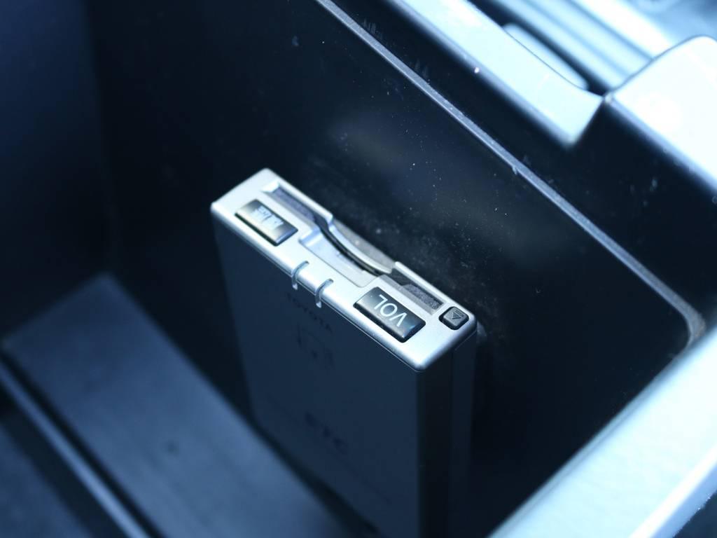 必需品のETCも装着済み!   トヨタ ランドクルーザープラド 3.0 TX リミテッド 60thスペシャルエディション ディーゼルターボ 4WD