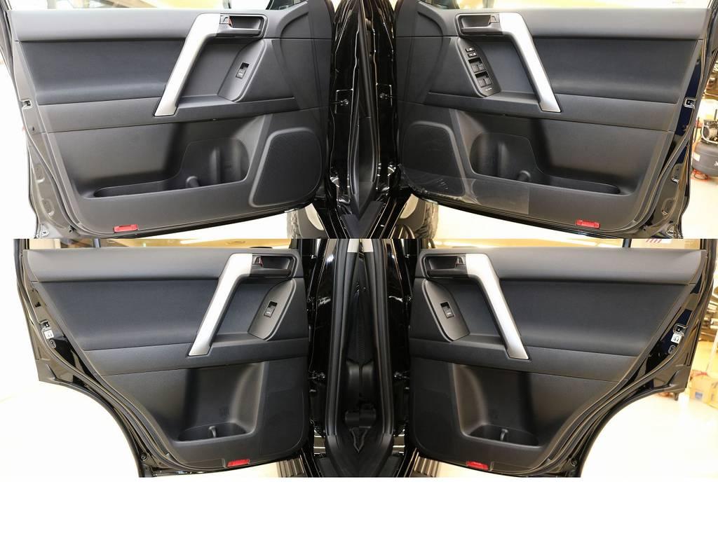 内張りになります☆ | トヨタ ランドクルーザープラド 2.8 TX ディーゼルターボ 4WD 新車未登録 7人乗り
