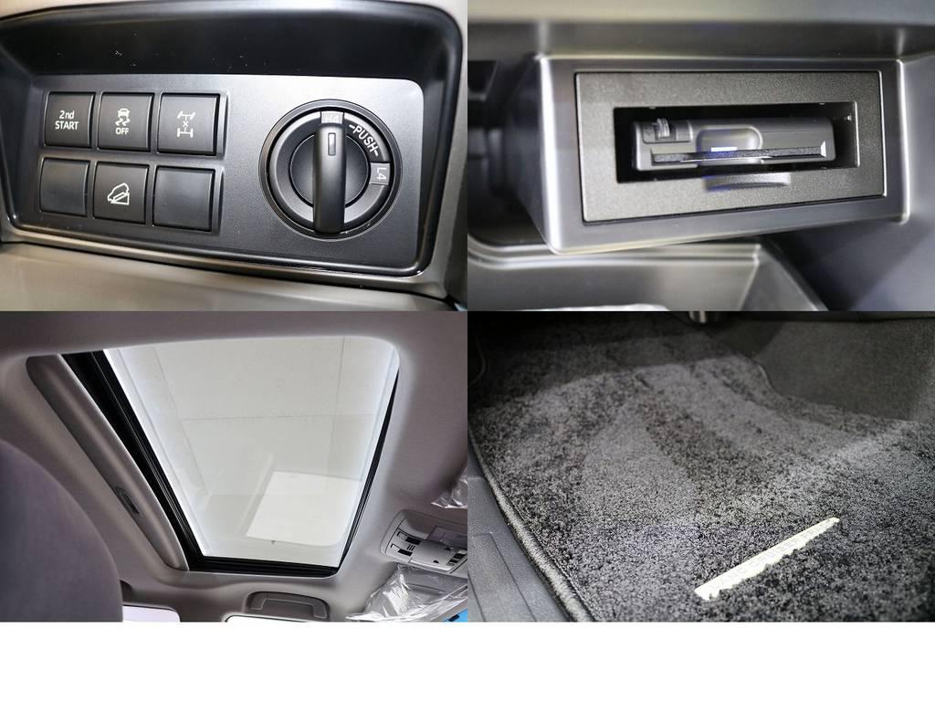 ビルトインETC☆サンルーフ☆ | トヨタ ランドクルーザープラド 2.8 TX ディーゼルターボ 4WD 新車未登録 7人乗り