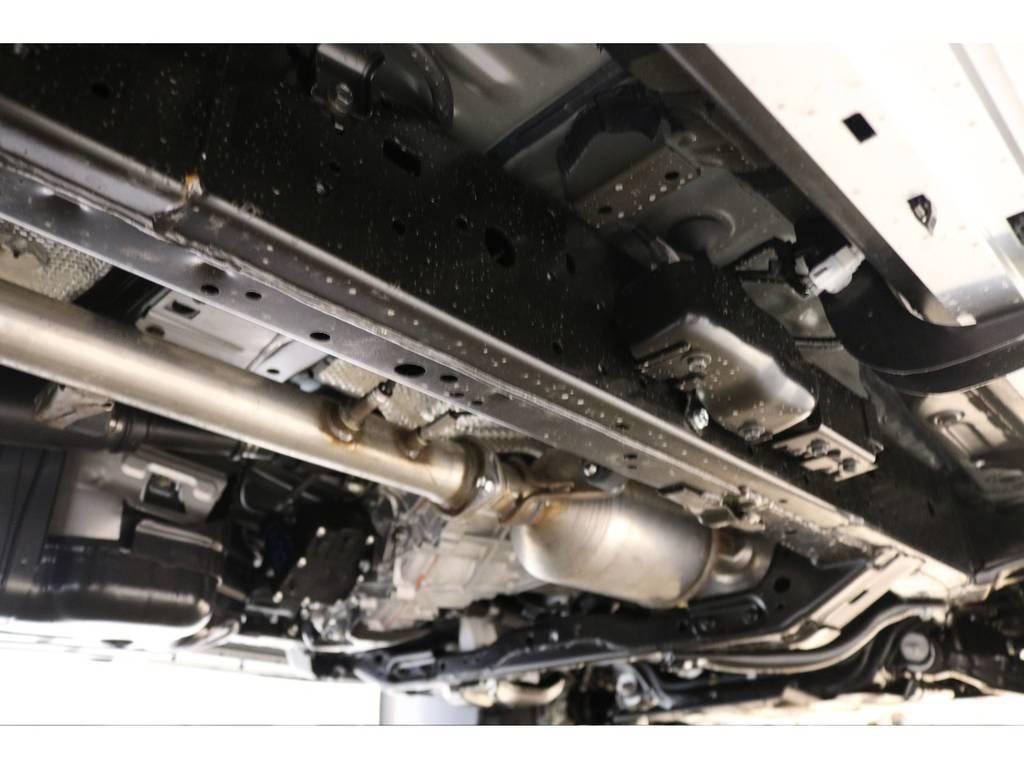 下廻りの防錆塗装等もご相談下さい☆ | トヨタ ランドクルーザープラド 2.8 TX ディーゼルターボ 4WD 新車未登録 7人乗り