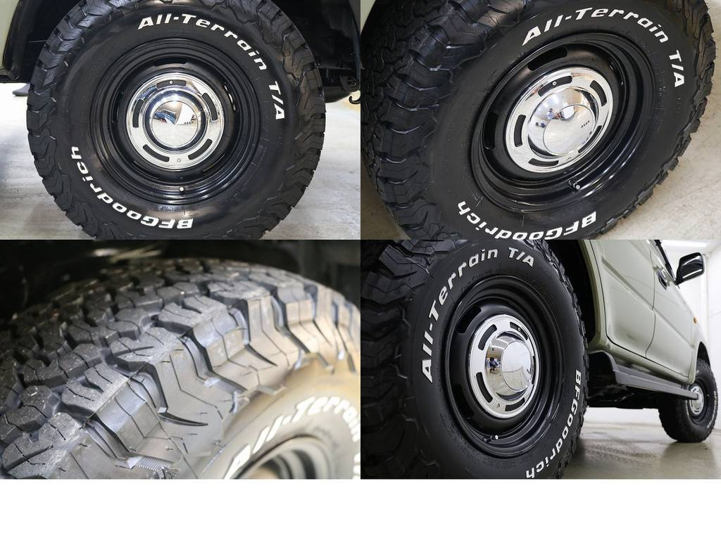 新品BFグットリッチATタイヤ×DEENクロスカントリー16インチAW☆ | トヨタ ランドクルーザープラド 2.7 TX リミテッド 4WD