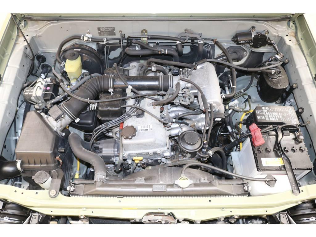 タイミングベルトレスの丈夫なエンジンです♪ | トヨタ ランドクルーザープラド 2.7 TX リミテッド 4WD