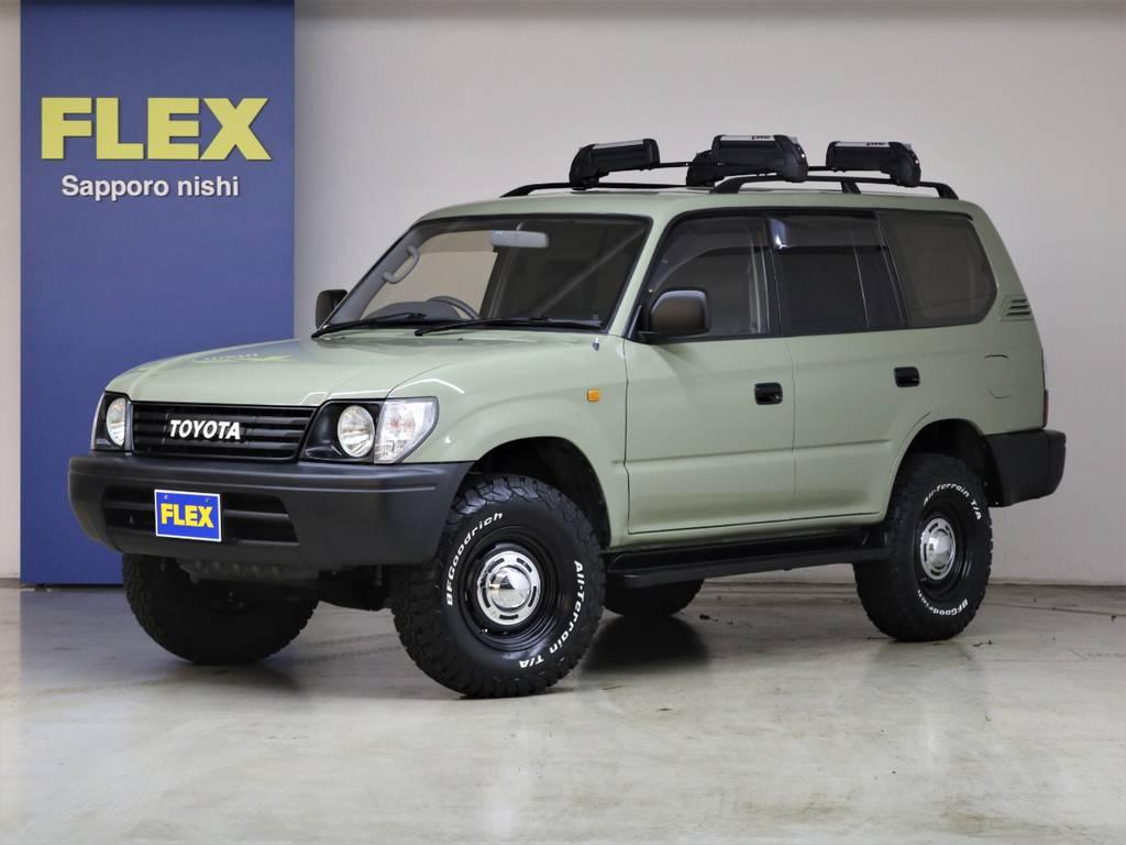 平成13年式ランドクルーザー95プラドTXリミテッド2700G☆ | トヨタ ランドクルーザープラド 2.7 TX リミテッド 4WD