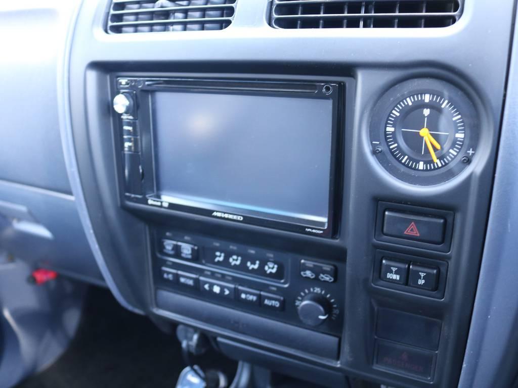 お好きな2DINナビに変更も可能! | トヨタ ランドクルーザープラド 2.7 TX 4WD 丸目 ナロー