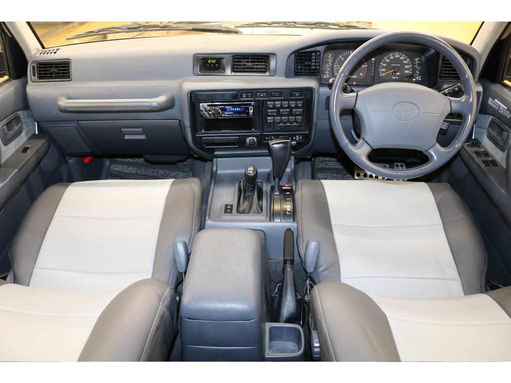 内装は当店にてルームクリーニング済みとなりますので綺麗な状態です♪ | トヨタ ランドクルーザー80 4.5 VXリミテッド 4WD
