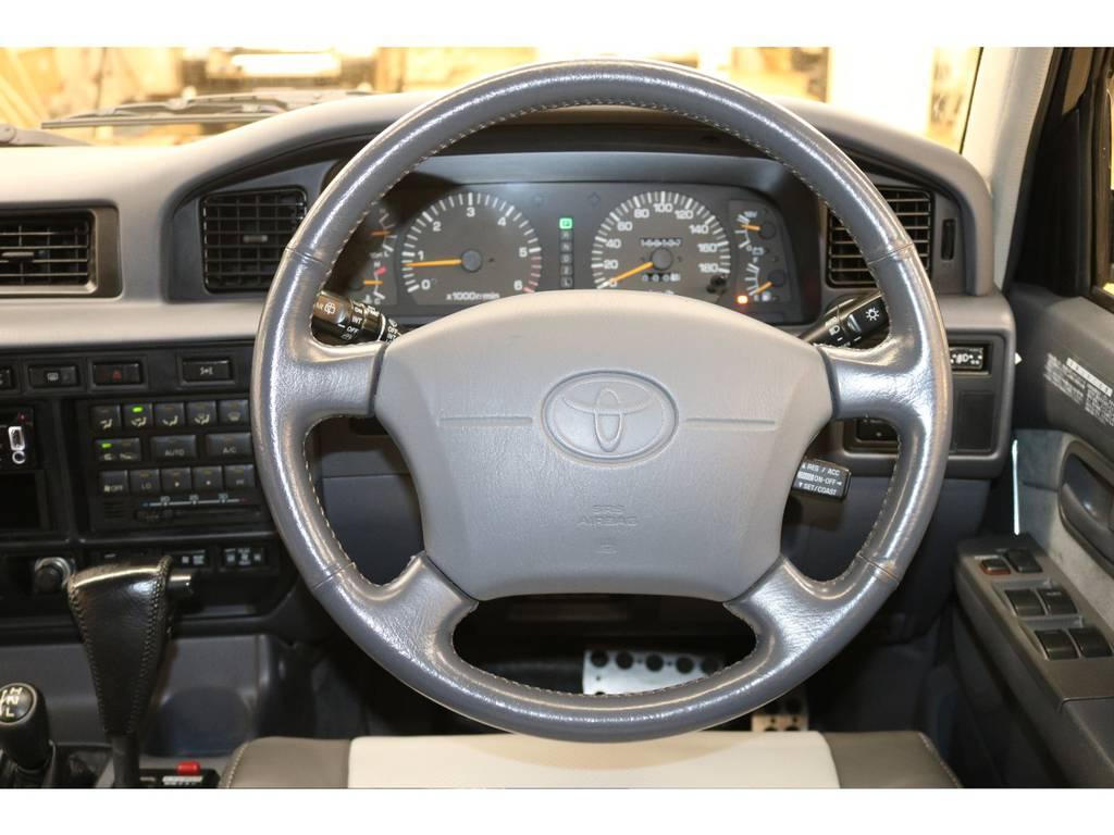 エアバック付き♪ | トヨタ ランドクルーザー80 4.5 VXリミテッド 4WD
