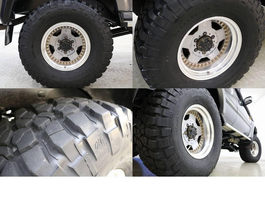 BFグットリッチMTタイヤ×社外16インチAW☆ | トヨタ ランドクルーザー80 4.5 VXリミテッド 4WD