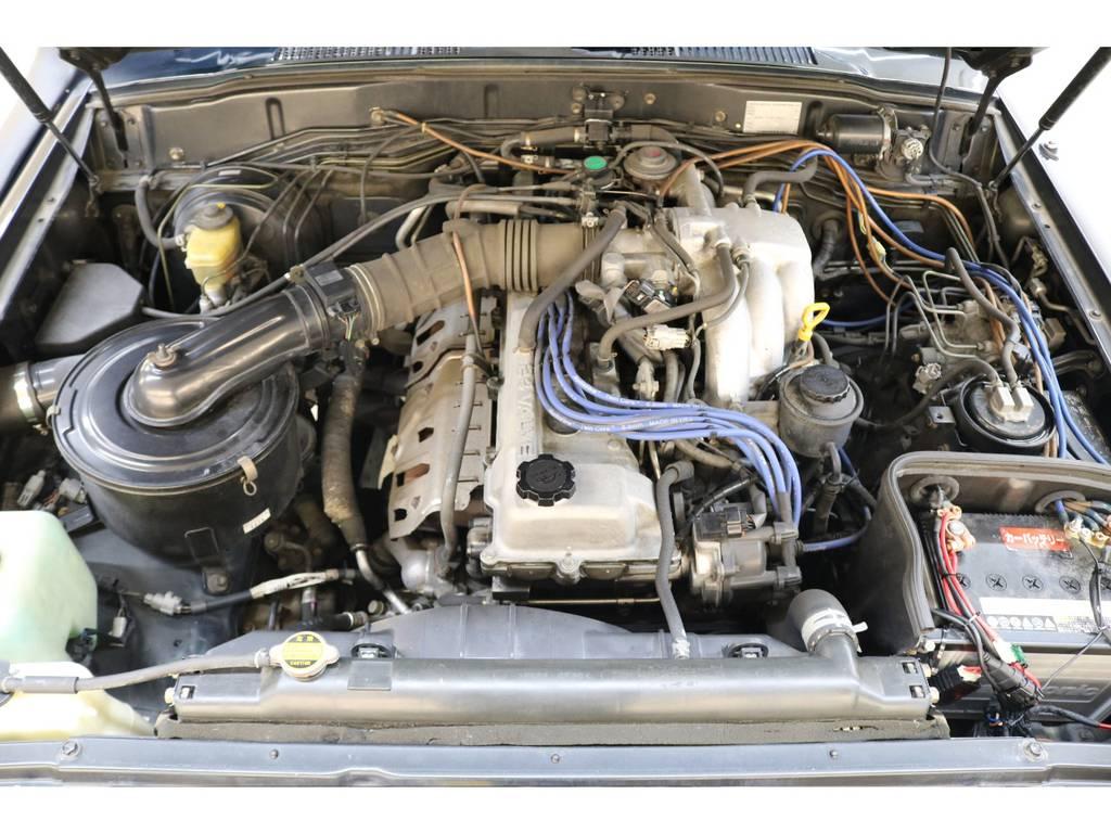 タイミングベルトレスの丈夫なエンジンです♪ | トヨタ ランドクルーザー80 4.5 VXリミテッド 4WD