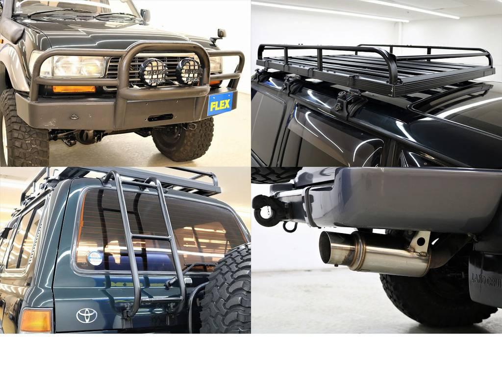 クロカン仕様♪ | トヨタ ランドクルーザー80 4.5 VXリミテッド 4WD