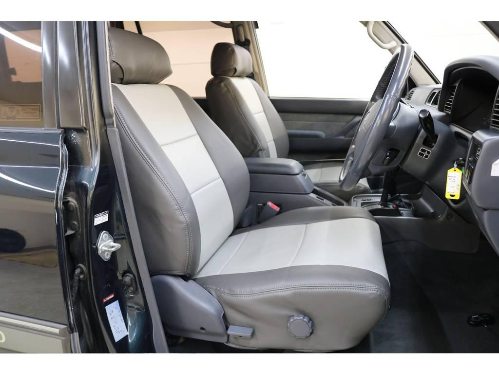 シートカバー装着済みです♪ | トヨタ ランドクルーザー80 4.5 VXリミテッド 4WD