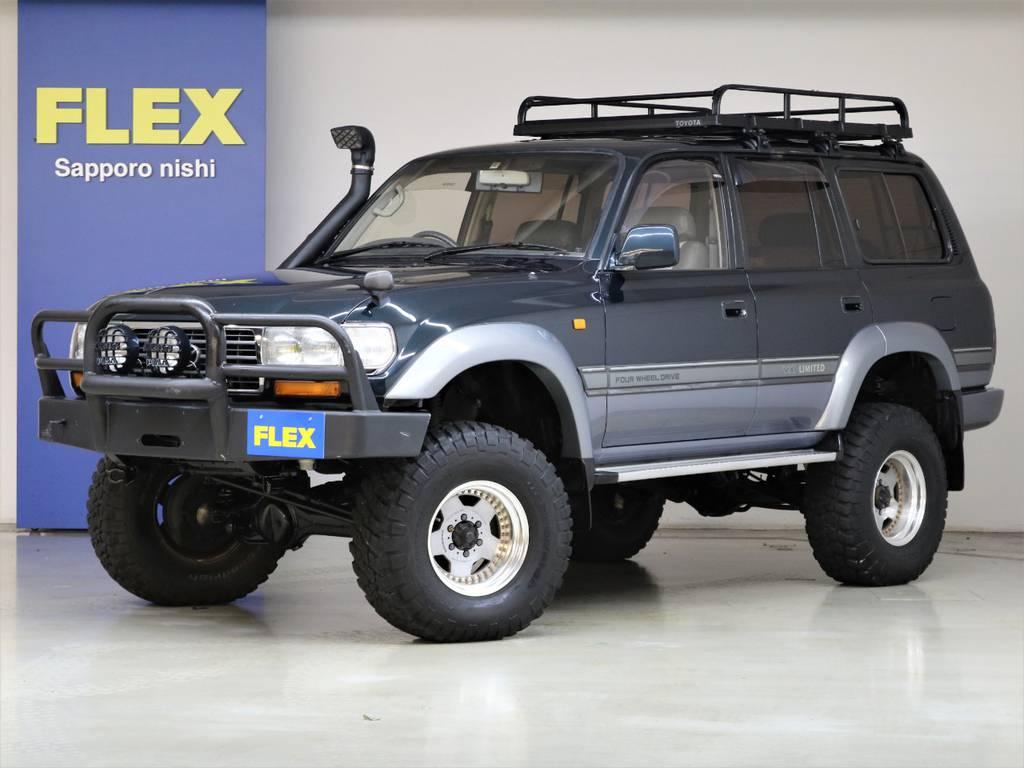平成7年式ランドクルーザー80VXリミテッド4500G☆ | トヨタ ランドクルーザー80 4.5 VXリミテッド 4WD
