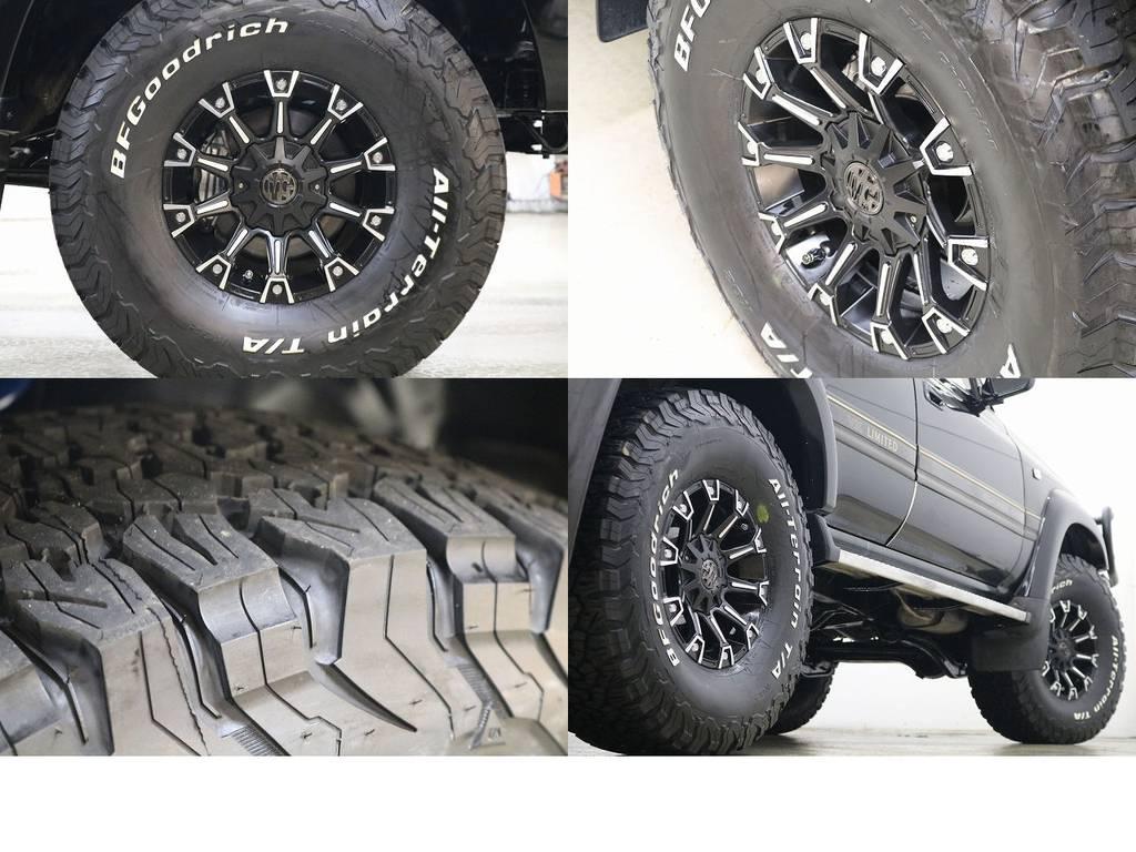 新品BFグットリッチATタイヤ×MGモンスター16インチAW☆ | トヨタ ランドクルーザー80 4.2 VXリミテッド ディーゼルターボ 4WD