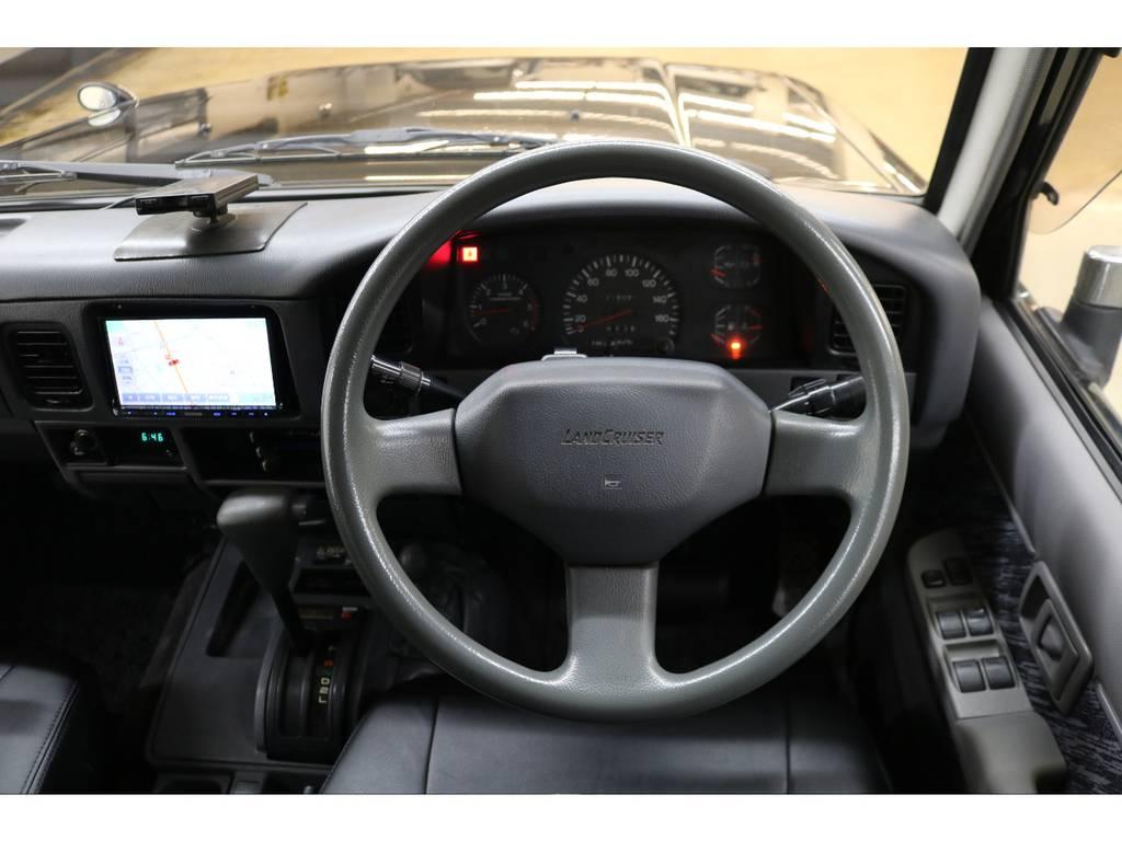 ウッドハンドル等にも変更可能ですのでご相談ください☆   トヨタ ランドクルーザープラド 3.0 SXワイド ディーゼルターボ 4WD
