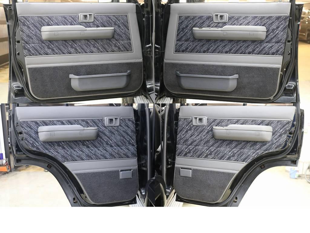 内張りになります☆   トヨタ ランドクルーザープラド 3.0 SXワイド ディーゼルターボ 4WD