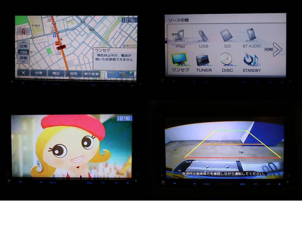 ケンウッドSDナビ&バックカメラ☆ETC☆   トヨタ ランドクルーザープラド 3.0 SXワイド ディーゼルターボ 4WD