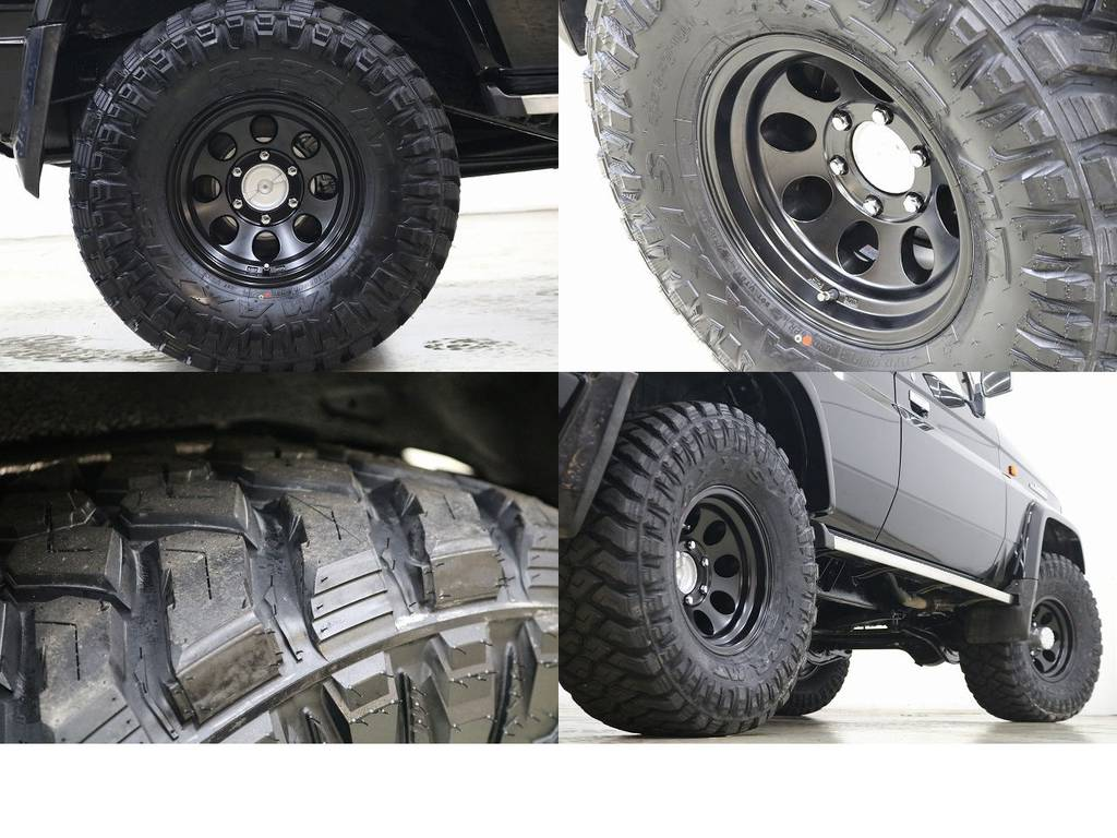 新品マキシスMTタイヤ×ジムライン16インチAW☆   トヨタ ランドクルーザープラド 3.0 SXワイド ディーゼルターボ 4WD