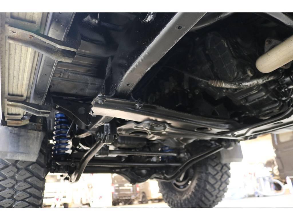 下廻りになります☆   トヨタ ランドクルーザープラド 3.0 SXワイド ディーゼルターボ 4WD