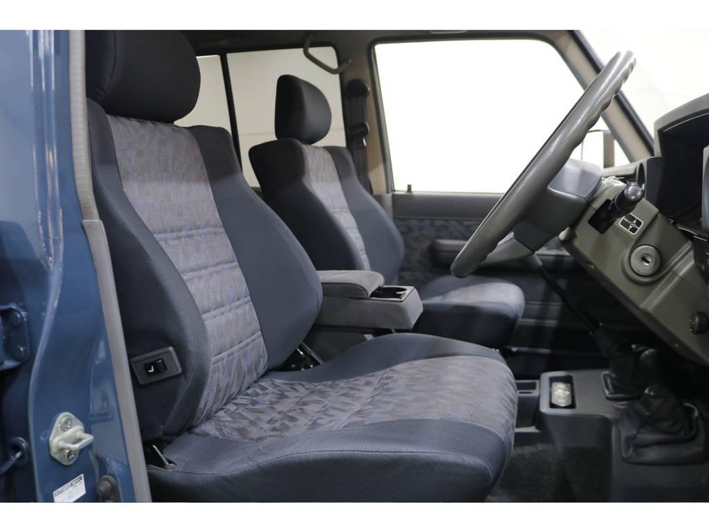 運転席/助手席ともに綺麗な状態が保たれております♪