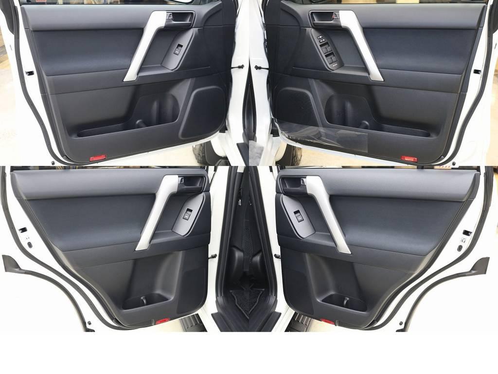 内張りになります☆ | トヨタ ランドクルーザープラド 2.8 TX ディーゼルターボ 4WD 5人