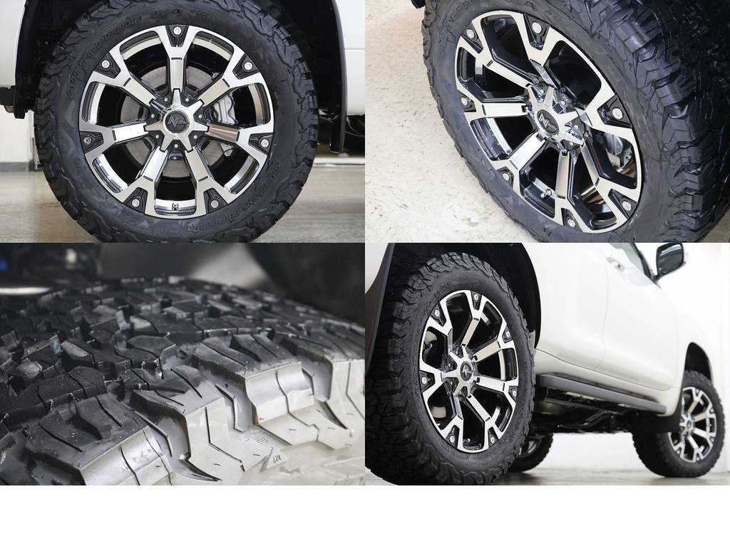 新品BFグットリッチATタイヤ×ナイトロパワー20インチAW☆ | トヨタ ランドクルーザープラド 2.8 TX ディーゼルターボ 4WD 5人