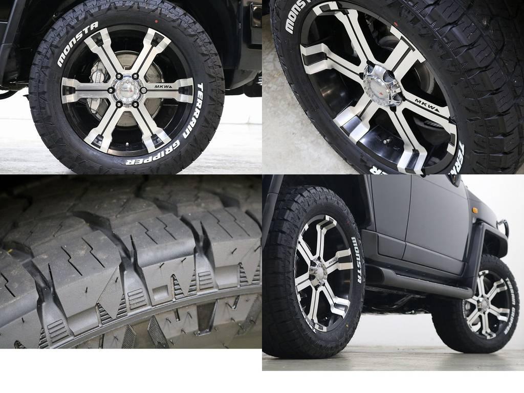 新品MONSTタイヤ×MKW20インチAW☆ | トヨタ FJクルーザー 4.0 カラーパッケージ 4WD