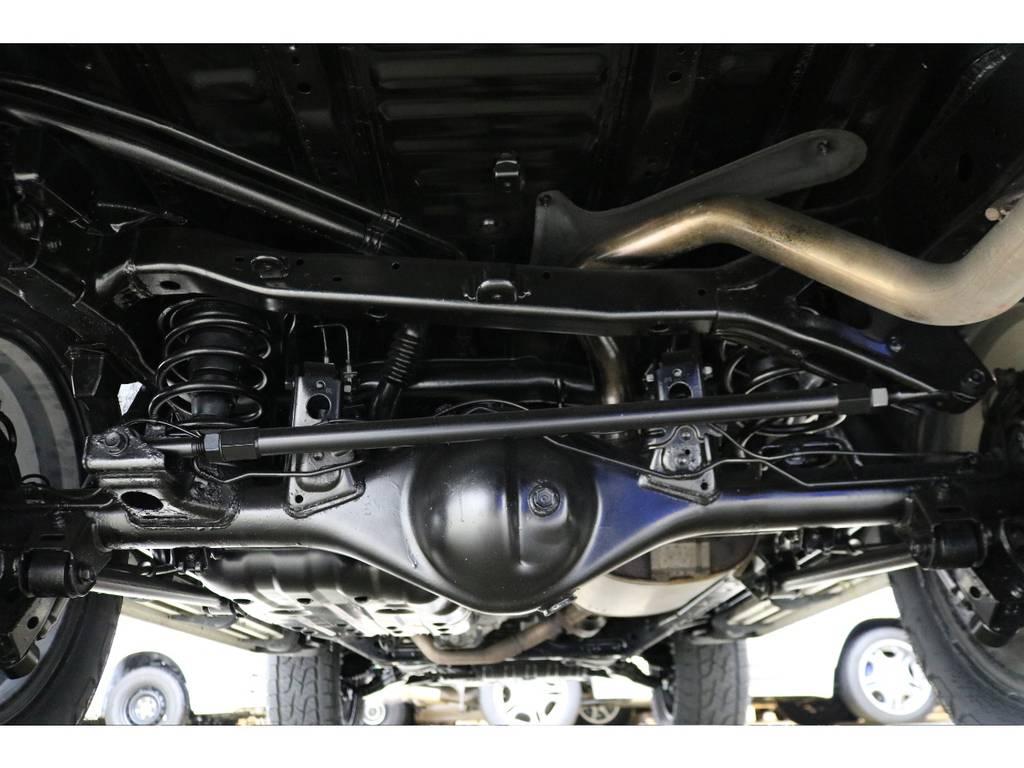 下廻りの状態も良好です♪ | トヨタ FJクルーザー 4.0 カラーパッケージ 4WD