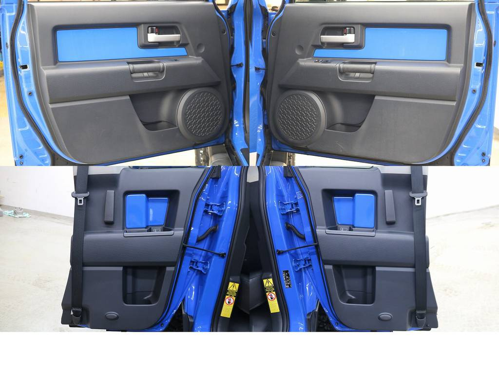 内張りになります☆ | トヨタ FJクルーザー 4.0 カラーパッケージ 4WD