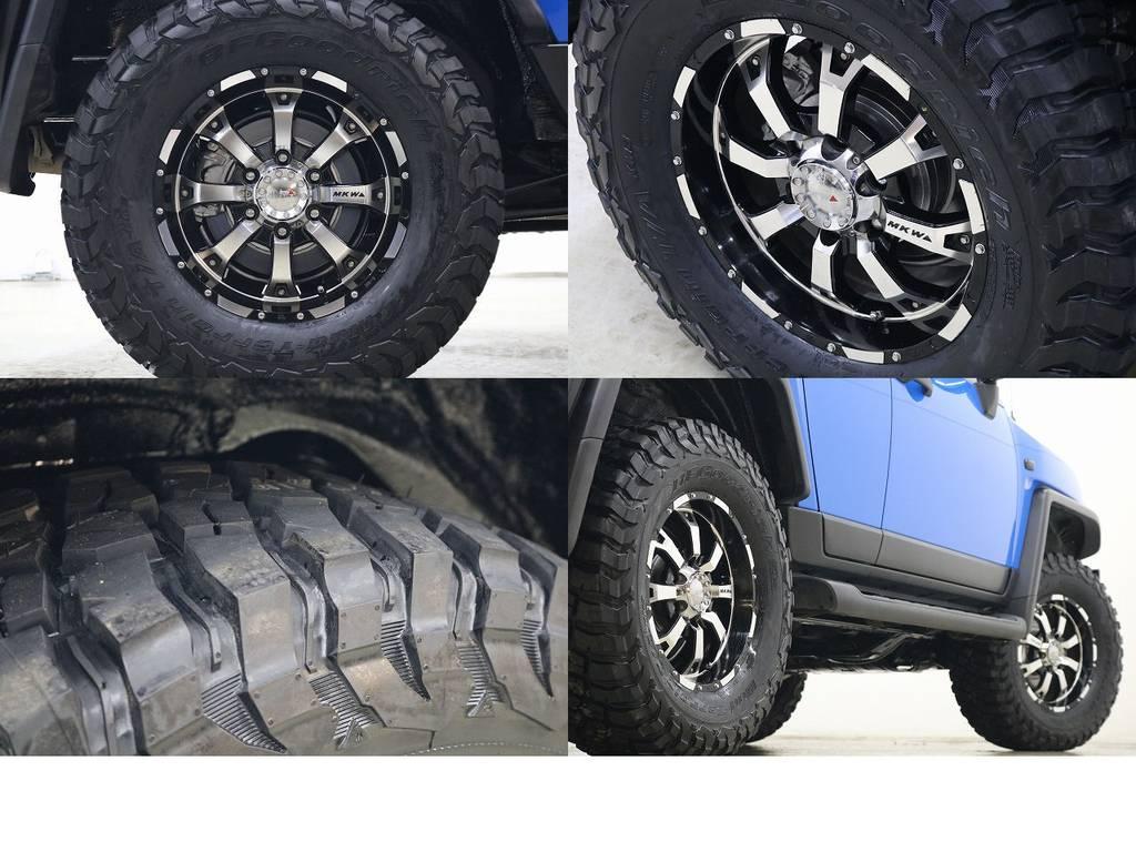 新作BFグットリッチKM3タイヤ×MKW17インチAW☆ | トヨタ FJクルーザー 4.0 カラーパッケージ 4WD