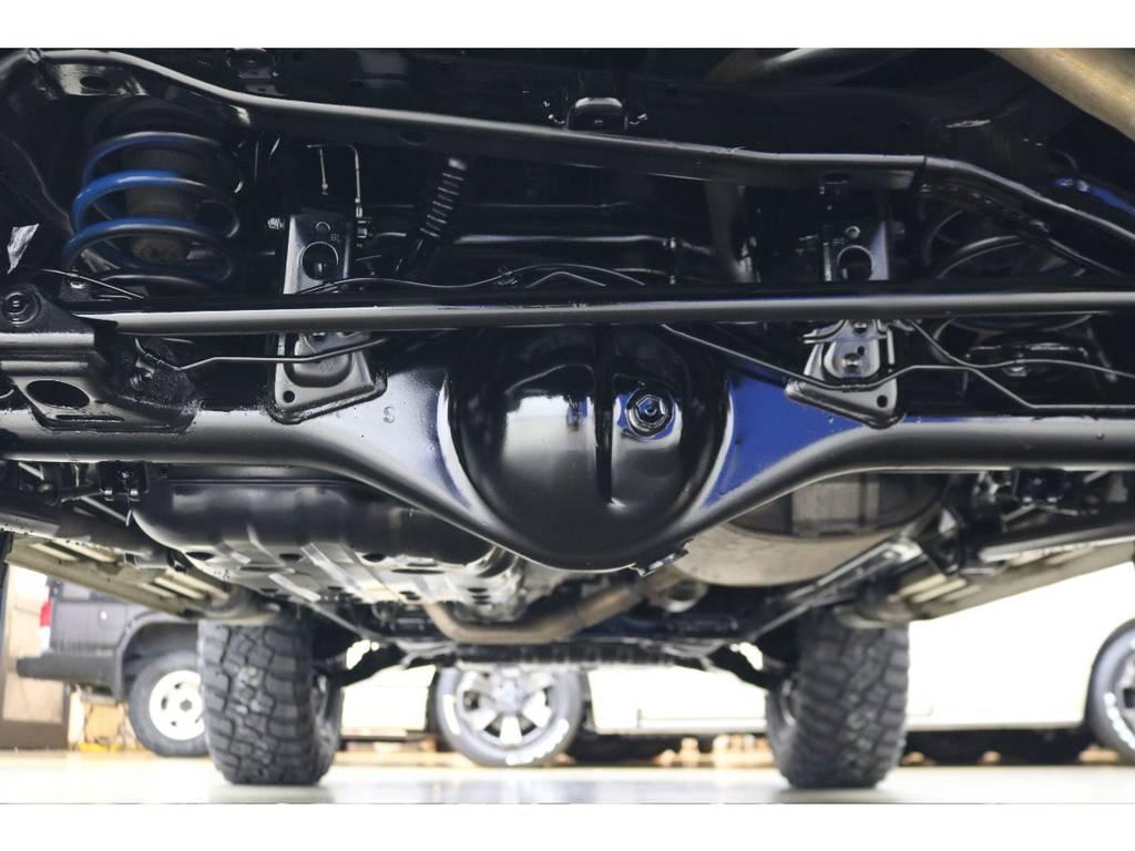 下廻りにの状態も良好です♪ | トヨタ FJクルーザー 4.0 カラーパッケージ 4WD