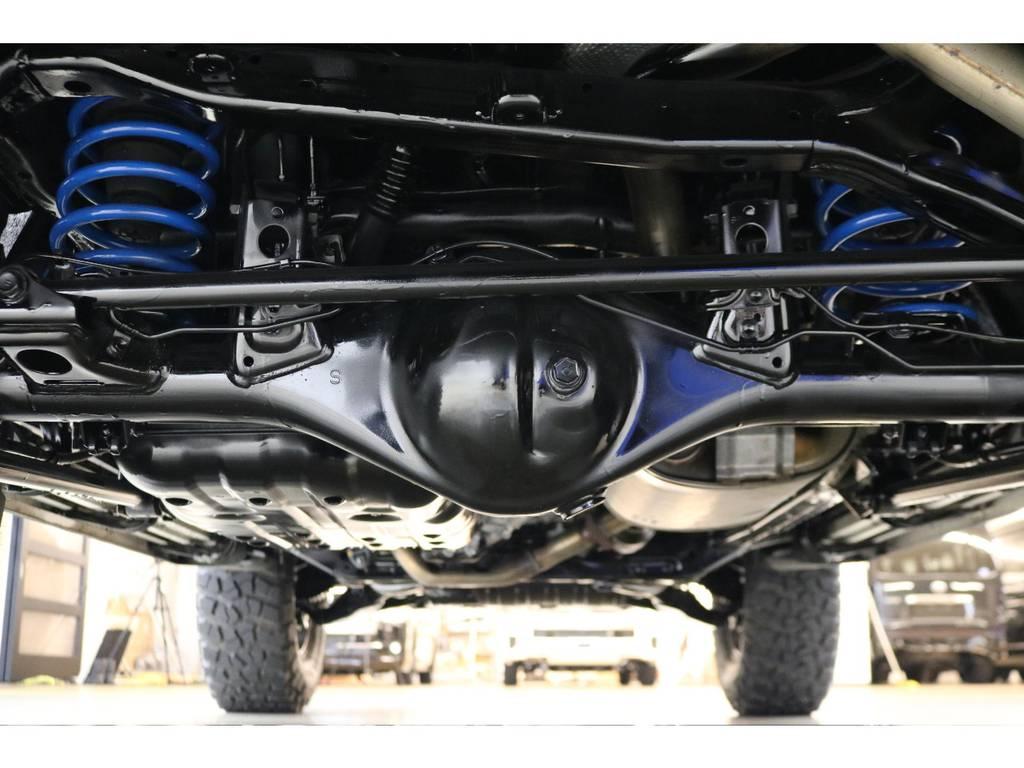 下廻りの状態も良好です♪ | トヨタ FJクルーザー 4.0 4WD トレイル仕様 2インチUP