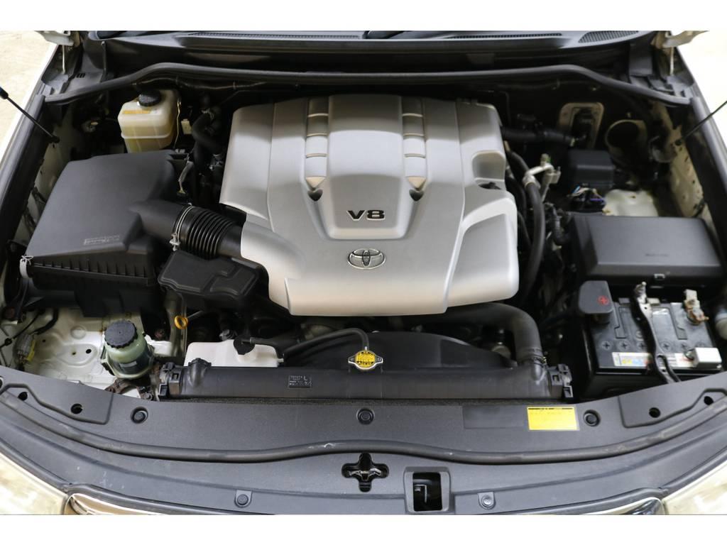 エンジンルームになります☆ | トヨタ ランドクルーザー200 4.7 AX Gセレクション 4WD