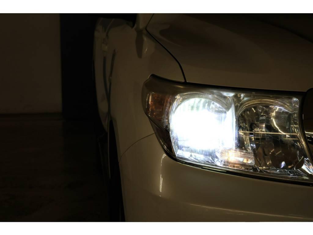 LEDヘッドライト☆ | トヨタ ランドクルーザー200 4.7 AX Gセレクション 4WD