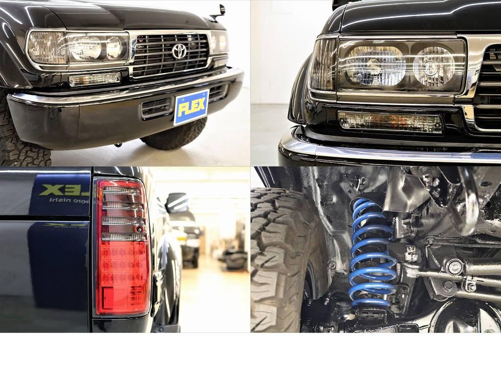 新品カスタムパーツ満載です♪ | トヨタ ランドクルーザー80 4.2 VXリミテッド ディーゼルターボ 4WD