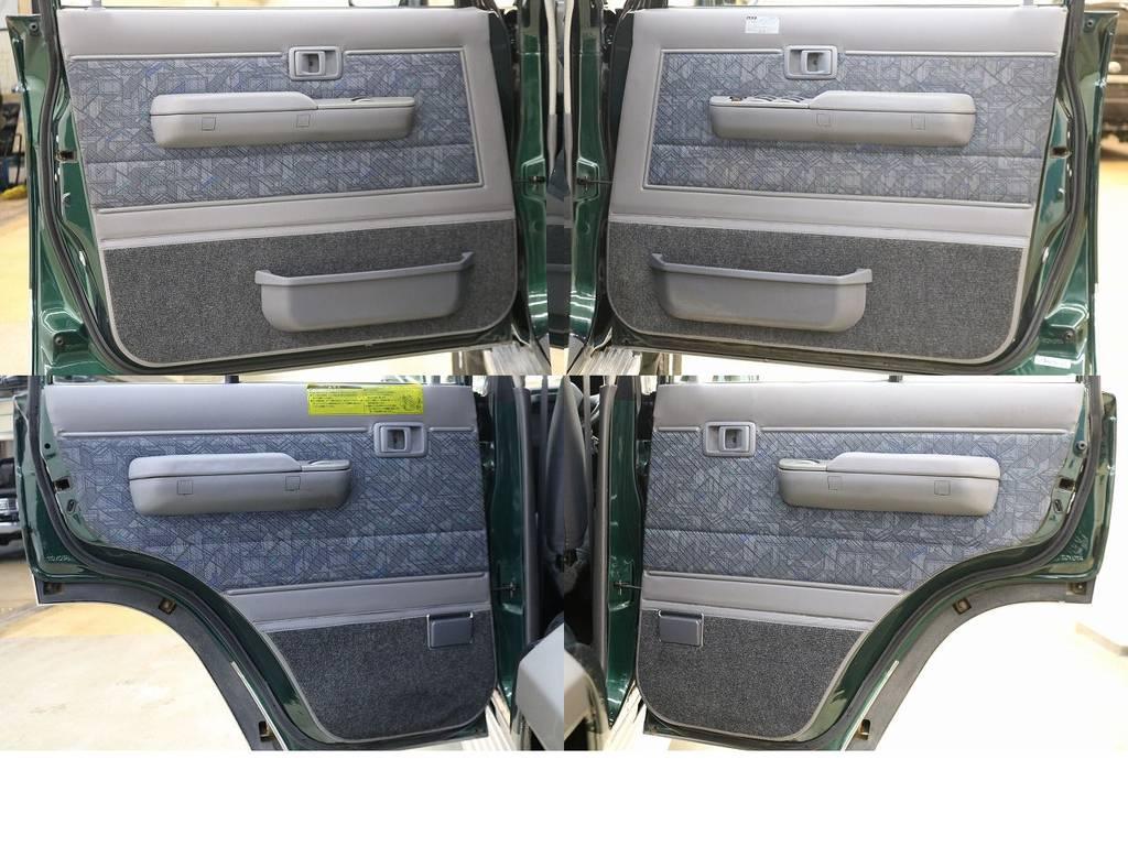ドアトリムになります☆ | トヨタ ランドクルーザー70 4.2 ZX ディーゼル 4WD