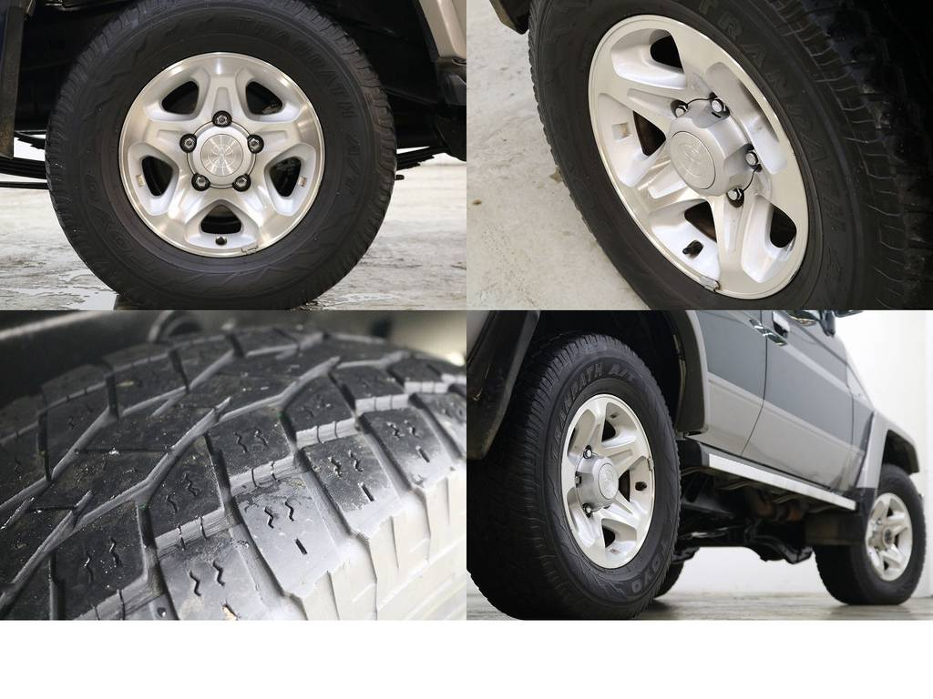 純正16インチAW☆ | トヨタ ランドクルーザー70 4.2 ZX ディーゼル 4WD