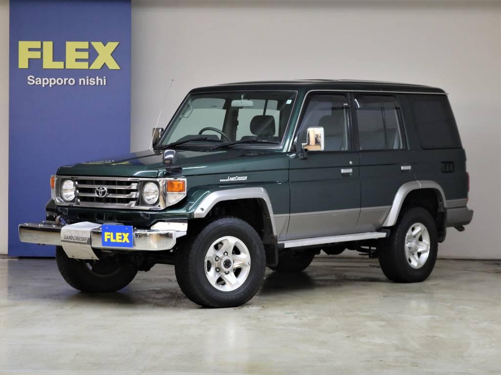 平成15年ランドクルーザー76ZX4200ディーゼル☆ | トヨタ ランドクルーザー70 4.2 ZX ディーゼル 4WD