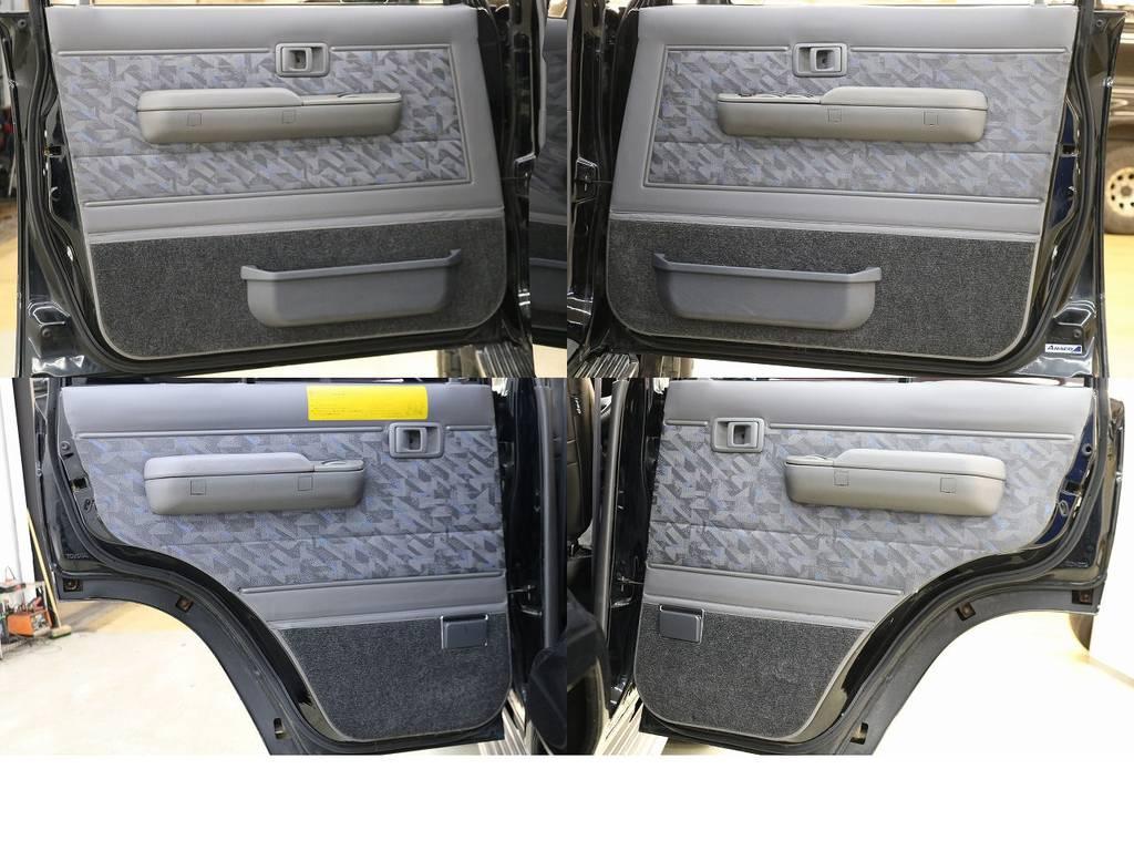 内張りになります☆   トヨタ ランドクルーザー70 4.2 ZX ディーゼル 4WD