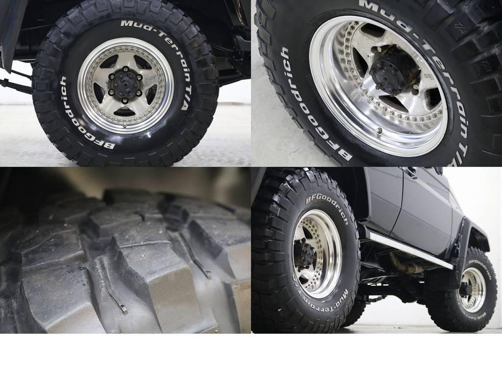 BFグットリッチMTタイヤ×ザイジックス16インチAW☆   トヨタ ランドクルーザー70 4.2 ZX ディーゼル 4WD