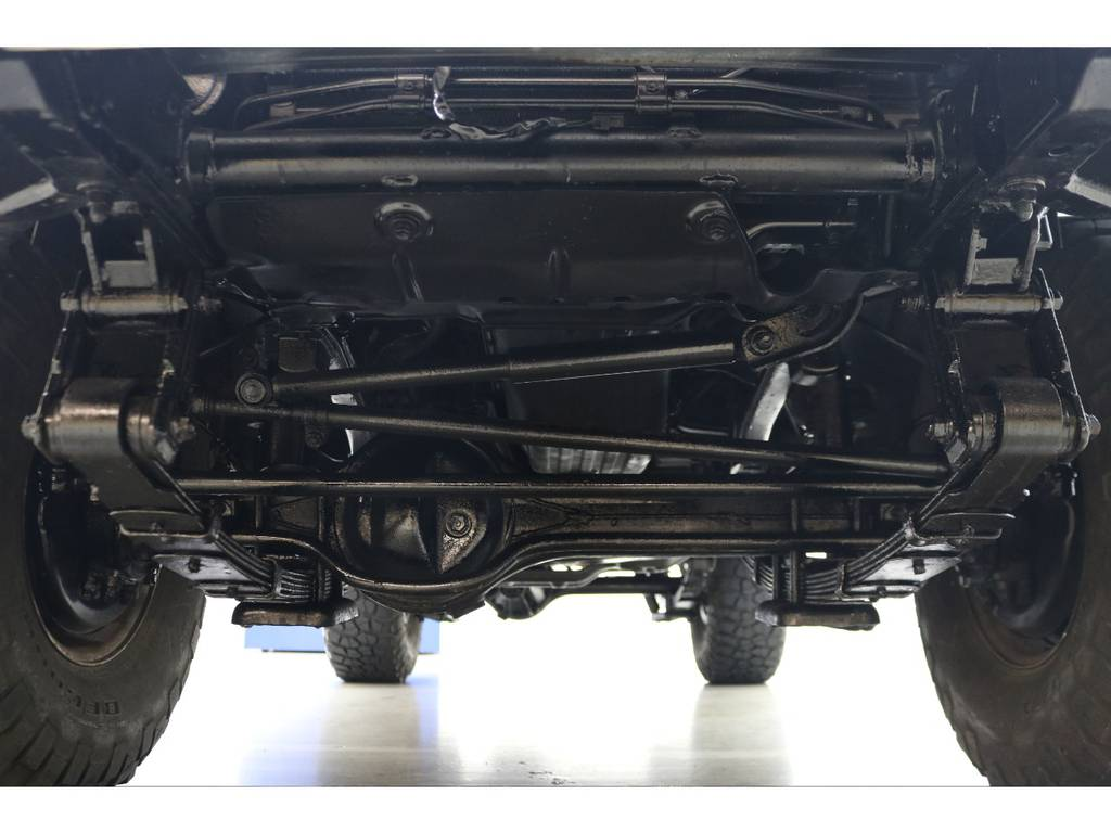 下廻りになります☆   トヨタ ランドクルーザー70 4.2 ZX ディーゼル 4WD